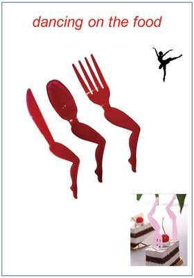 knife, fork & spoon